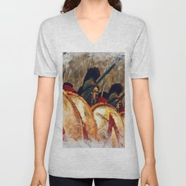 Spartan Army at War Unisex V-Neck