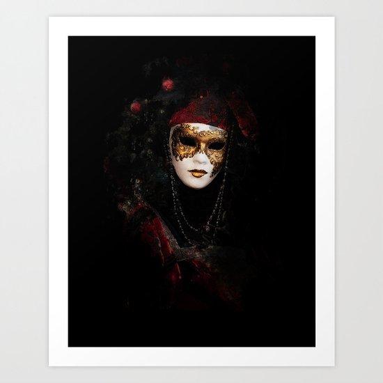Mask 6 Art Print