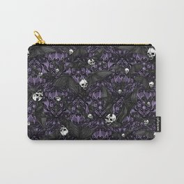 Skelebats - Royal Purple Carry-All Pouch