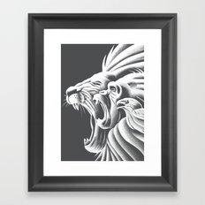 Call of the Wild Framed Art Print