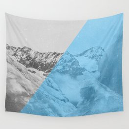 NEON NATURE | Blue Wall Tapestry