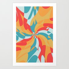 Splat (Available in the Society 6 Shop!) Art Print