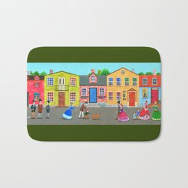 New England town Bath Mat