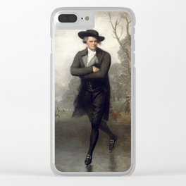 The Skater (Portrait of William Grant) 1782 Clear iPhone Case