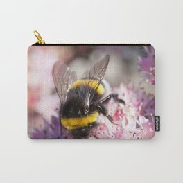 Bumblebee On Stonecrop – Hummel auf Fetthenne Carry-All Pouch