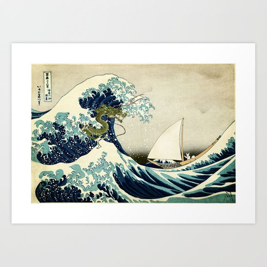 To where the wild things are Art Print
