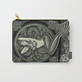 Vintage Classic Mermaid Pinup Carry-All Pouch