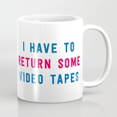 American Psycho - I have to return some video tapes Mug
