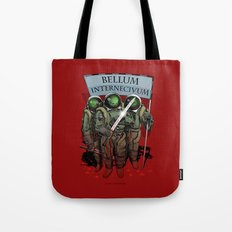 A war of extermination. Special red edition Tote Bag
