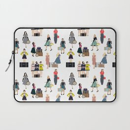 Vintage Travel Laptop Sleeve