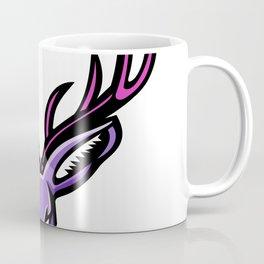 Jackalope Head Mascot Coffee Mug