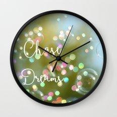 Chase Dreams Wall Clock