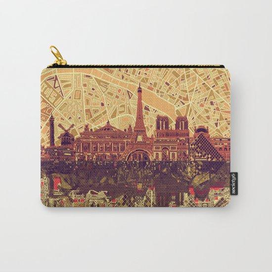 Paris skyline  Carry-All Pouch