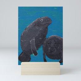Dugong Mini Art Print
