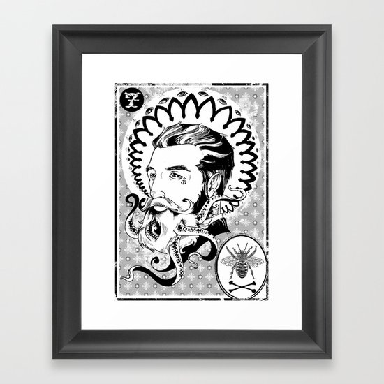 Captain Zion Framed Art Print