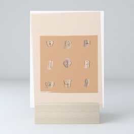Ode to Bums Mini Art Print