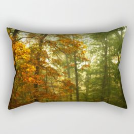 Mysterious Fall Rectangular Pillow