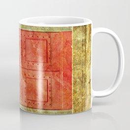 Red Doors Coffee Mug