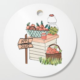Apple Stand Cutting Board