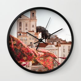 Lisbon Views Wall Clock