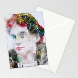 LOU ANDREAS SALOME watercolor portrait.1 Stationery Cards