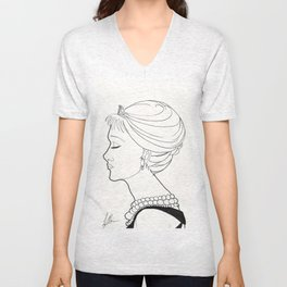 Holly Golightly Unisex V-Neck
