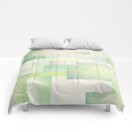 The Park, Geometric Art Comforters