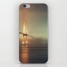 Bridge in Fog iPhone & iPod Skin
