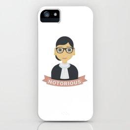 RBG Notorious iPhone Case
