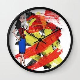 Disneyland Cruella de Vil Evil Relations Wall Clock