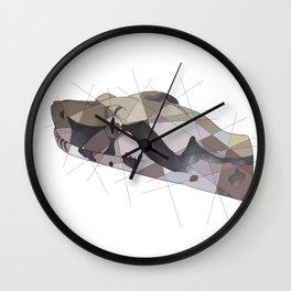 Red Tail Boa Wall Clock