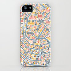 Amsterdam City Map Poster Slim Case iPhone (5, 5s)