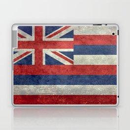 The State flag of Hawaii - Vintage version Laptop & iPad Skin