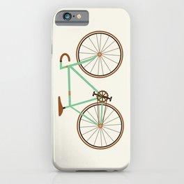 Green Fixie iPhone Case