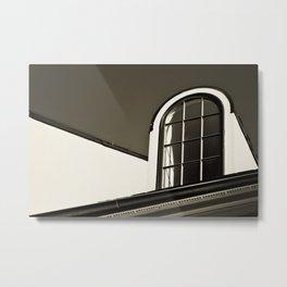 Upstairs Window Metal Print