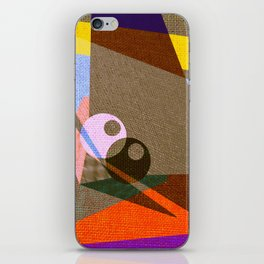 geometric eyes iPhone Skin