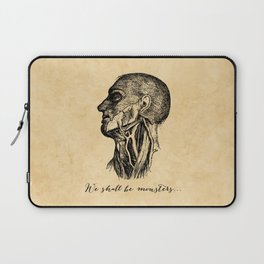 Frankenstein - Mary Shelley - We Shall Be Monsters Laptop Sleeve