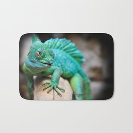 Gecko Reptile Photography Bath Mat