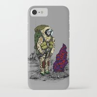 spaceman iPhone & iPod Cases featuring Spaceman by Mihail.Kosarenin