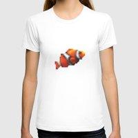 blur T-shirts featuring Blur Fish by foureighteen