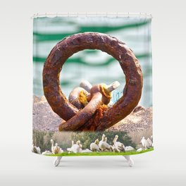 Fishers Ring Shower Curtain