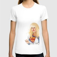 karu kara T-shirts featuring MOST ELIGIBLE KRYPTON by John Aslarona