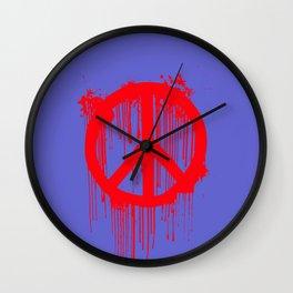 Banksy World Peace Wall Clock
