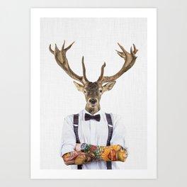 DIEGO WILD Art Print