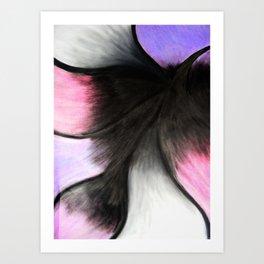 Conte Crayon/Charcoal/Oil Pastel 2 Art Print