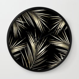 Tropical Leaves 6 Wall Clock