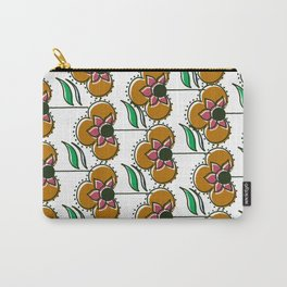 70s inspired pattern Carry-All Pouch