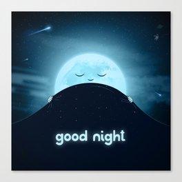 Good Night Sky Canvas Print
