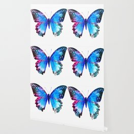 Big Blue Butterfly Wallpaper