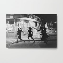 Girl Gang Metal Print